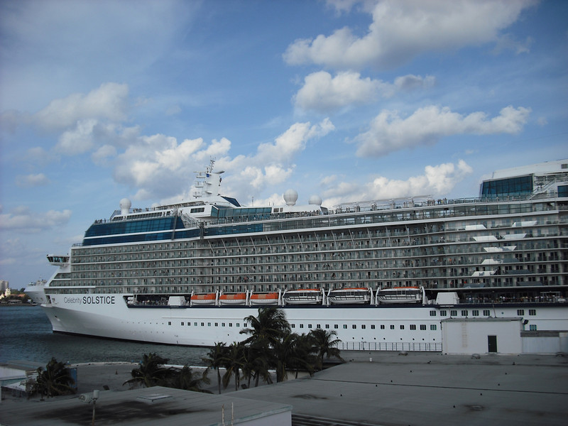 Celebrity Solstice in Ft. Lauderdale