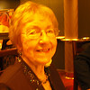Close-up of Phyllis on the first formal night