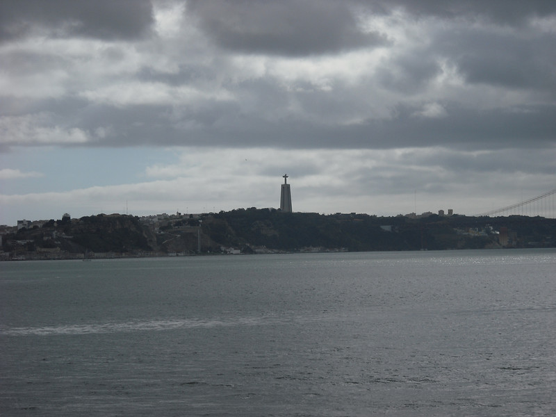 Sailaway views from Lisbon