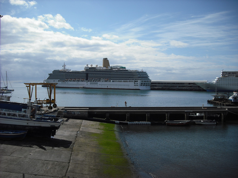 One of the other ships in port that day