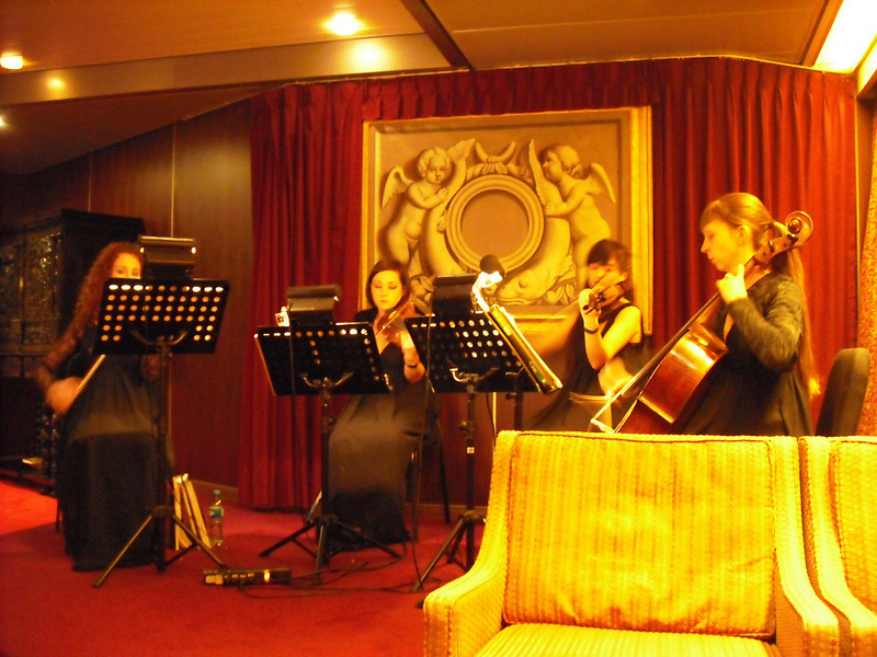 Adagio Strings.  We enjoyed listening to them after dinner almost every night.  They are from the Ukraine