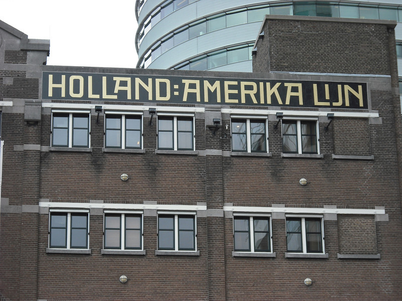 Old Holland America headquarters--used as a hotel now