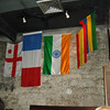 Some of the flag decorations