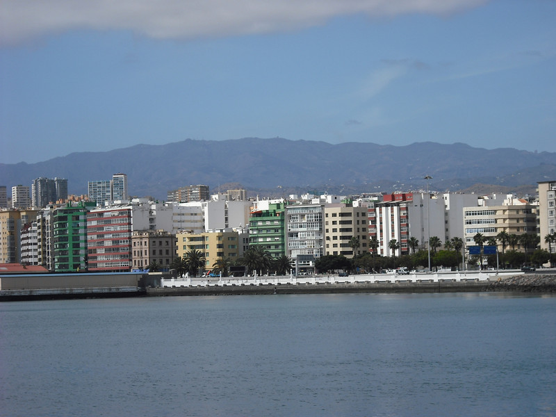 April 26--Las Palmas, Spain