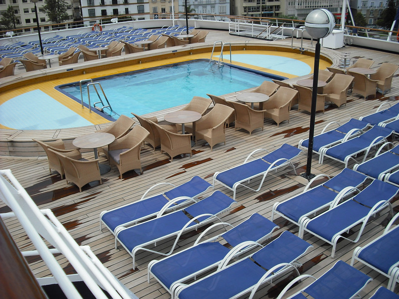 View of our Navigation Deck pool area