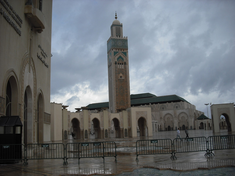 Casablanca, Morocco, Place Mohammed V Mosque--April 29