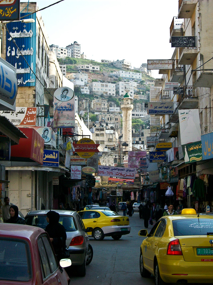 Nablus,hotbed of Palestinian Nationalism, today seems a friendly place with outgoing people.