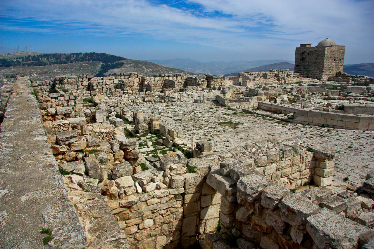 Archeological site above Nablus.