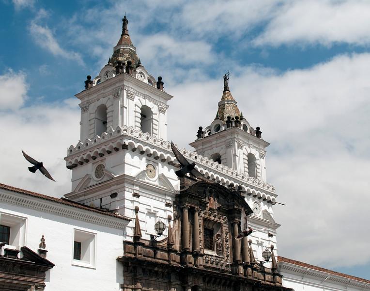 Plaza San Francisco, Quito, Ecuador
