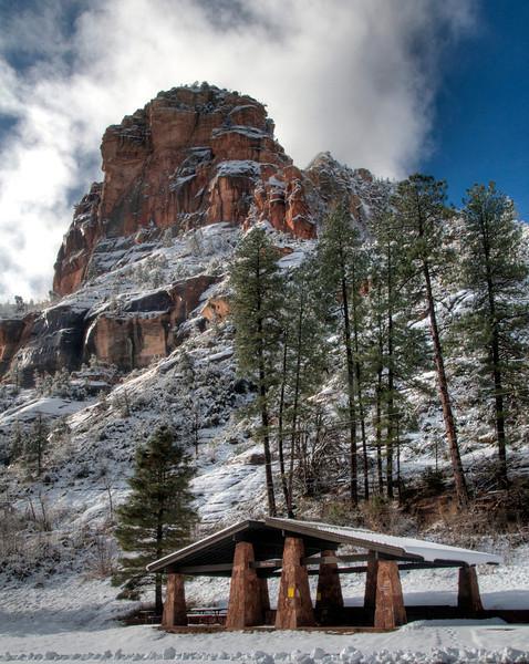Slide Rock State Park, Oak Creek Canyon, northeast of Sedona on the way to Flagstaf