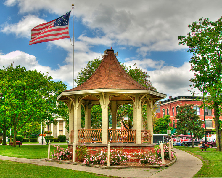 Band Stand, Norwich, NY