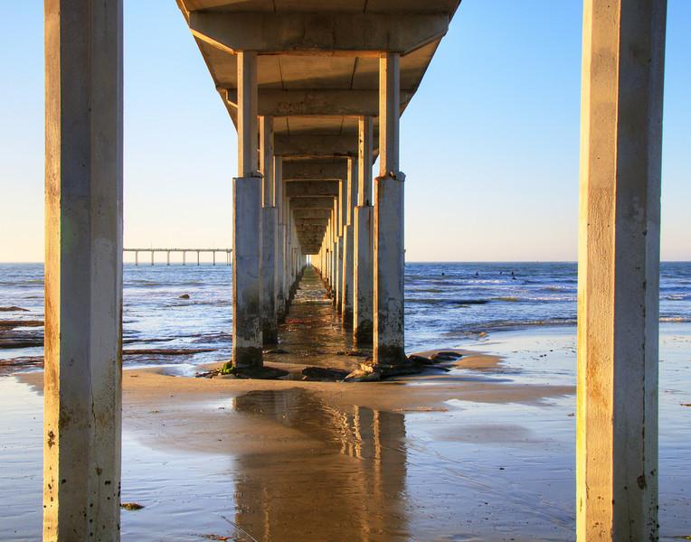 Fishing Pier, Ocean Beach, San Diego, California