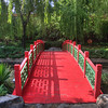 Bridge in a park in the Forbidden City, Beijing, China