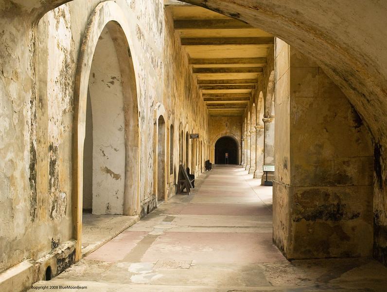 San Cristobal Fort, Old San Juan, Puerto Rico