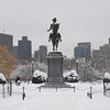 George Washington Statue in Boston Commons, Boston, Massachusetts