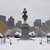 George Washington Statue in Boston Commons, Boston, Massachusetts
