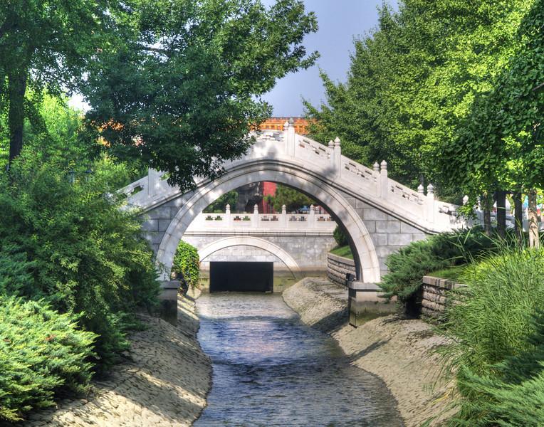 Park in Forbidden City, Beijing, China
