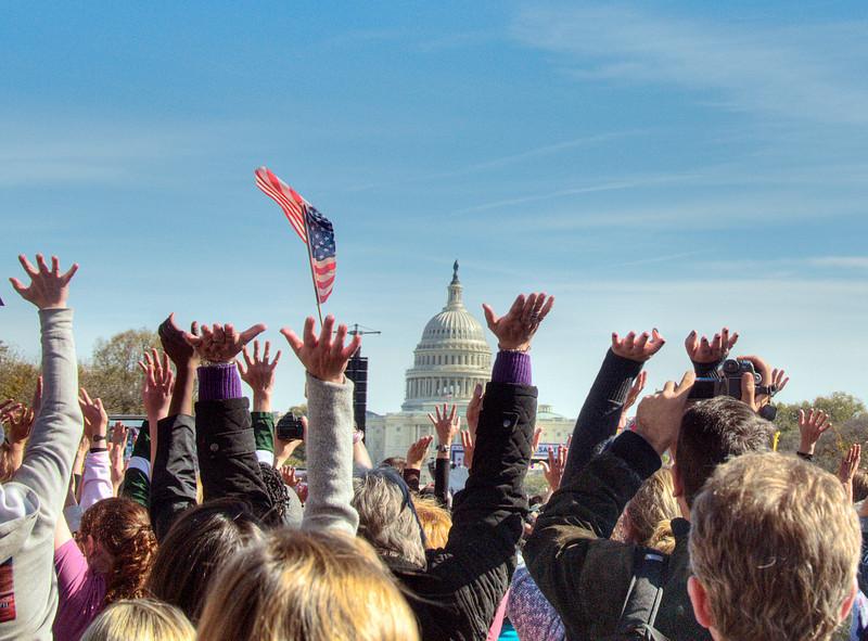 Rally to Restore Sanity, Washington, DC