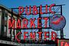 Seattle's Public Market Center at Dusk