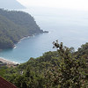 Here we will walk down to that beach along a well constructed trail, see a tortoise, lots of yogis and hippies and go for a wonderful swim in the Mediterannean swells before climbing back up to catch the Dolmus back to our hotel Montenegro.