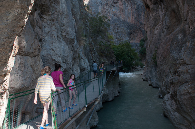 Into the Gorge: 15 TL entrance fee, not including renting rubber shoes. I stuck with Keens.