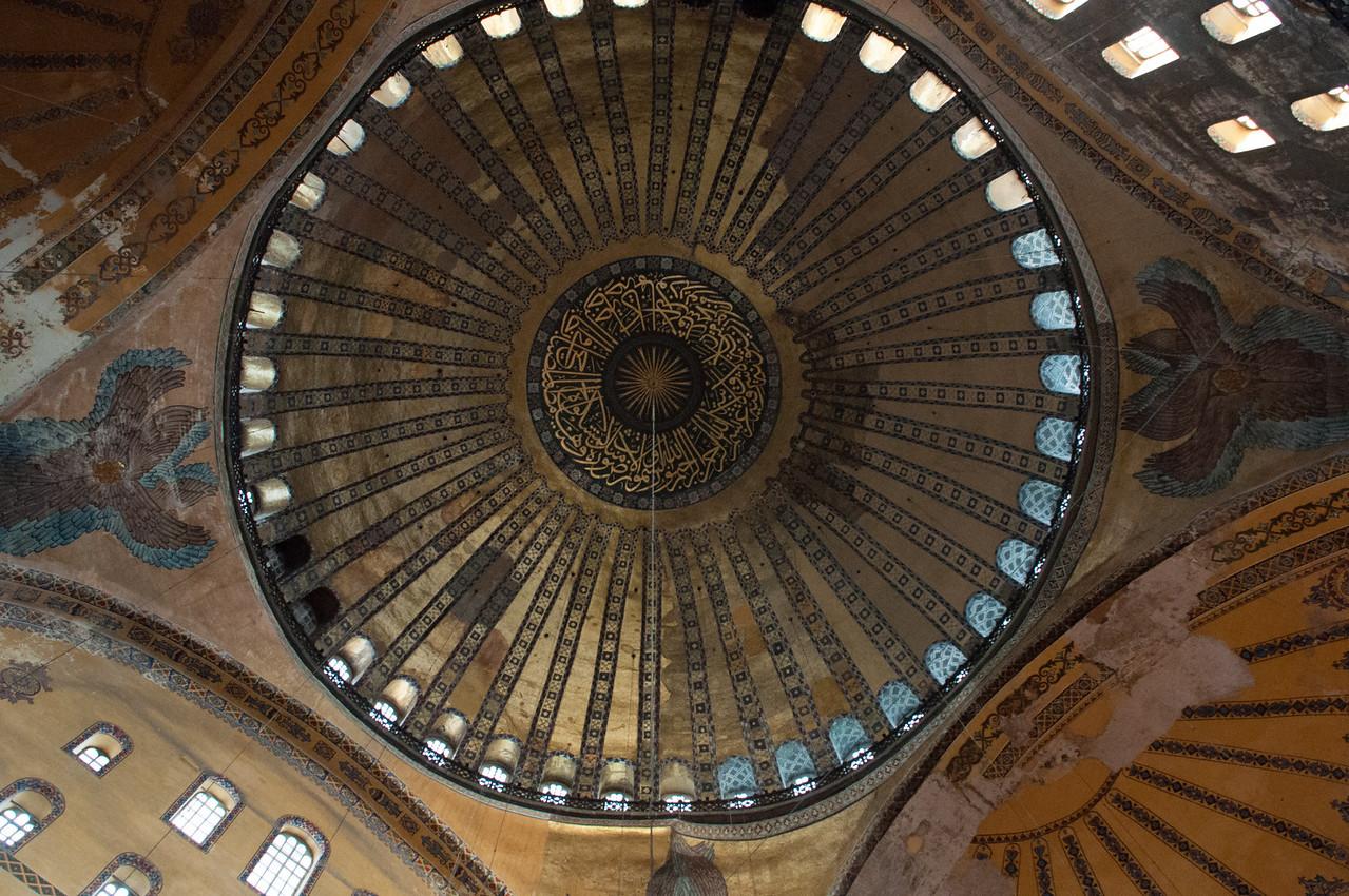 The dome of the Hagga Sofia.
