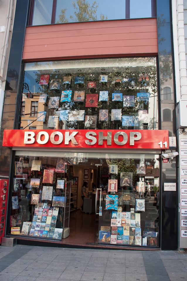 Great book shop.  Orhan Pamuk's favorite, again, I'm told.