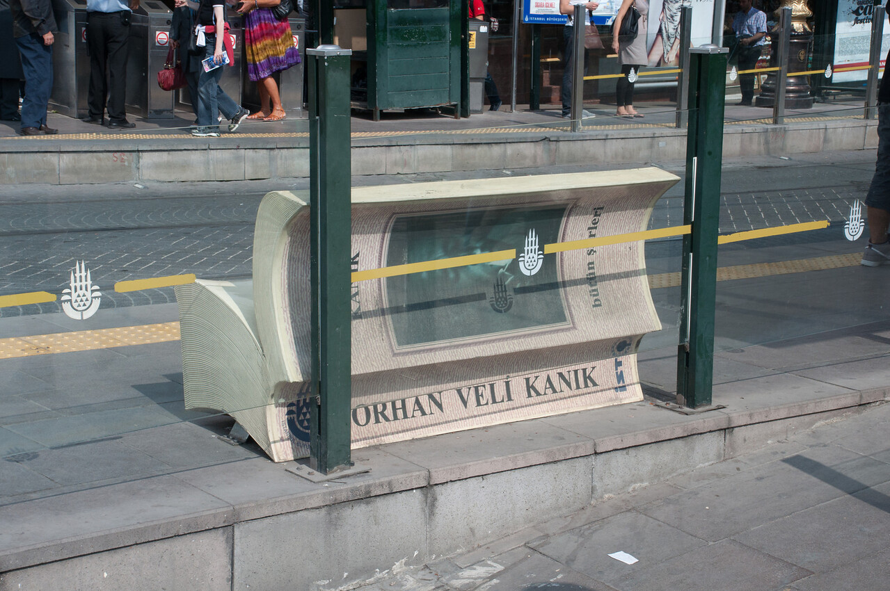 How can you not love a city with such benches?