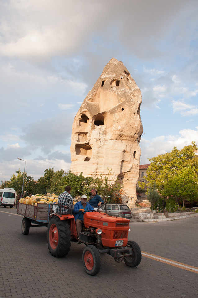 Last shot from Goreme before we get on the bus.