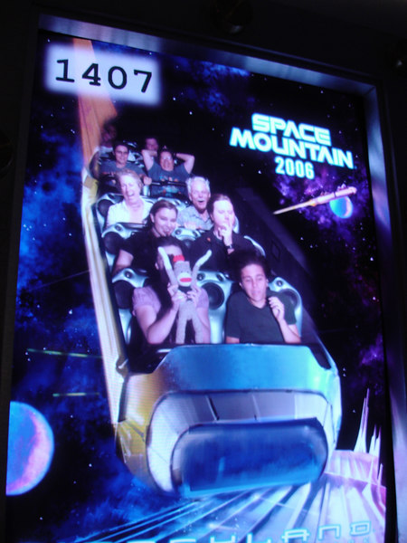 Check out our different reactions to Space Mountain!