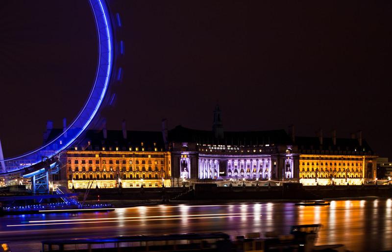 The Eye at night