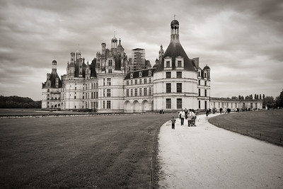 Chateau Chambord in the Loire Valley