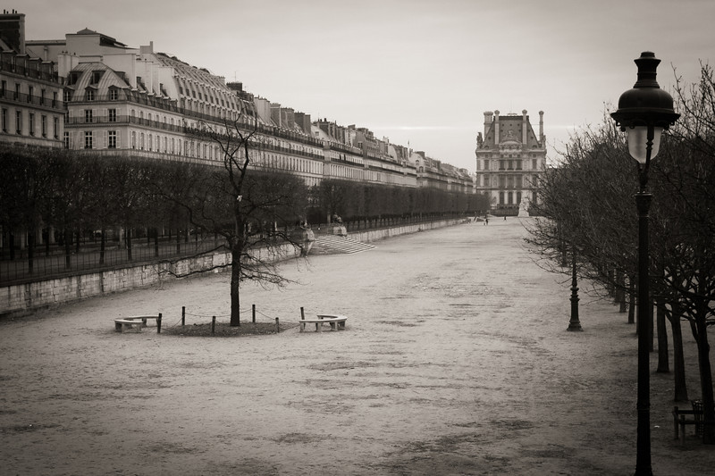Near Place de la Concorde in Paris
