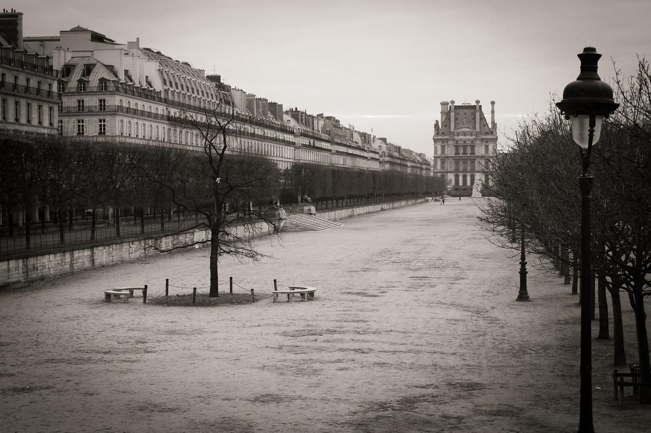 Near Place de la Concorde in Paris