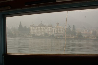 taken from the boat, en route to Isola Pescatori