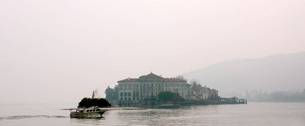 view of Isola Bella from Isola Pescatori