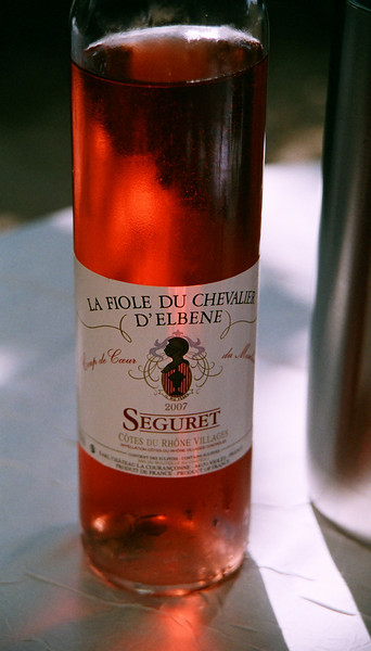 """Yes, don't miss a small bottle for lunch... a nice """"pink"""" as the UK visitors called it."""