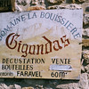 In the southern end of the Rhone wine country... the town and wine of Gigondas