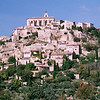 A classic Provence view... the hill town of Gordes in the afternoon sun.