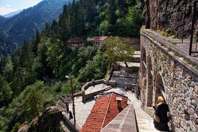 Mt Sumela Monastery