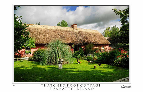 bunratty thatched roof