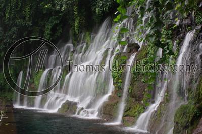 The cascadas at Juayua. Juayua, Ahuachapan, El Salvador.