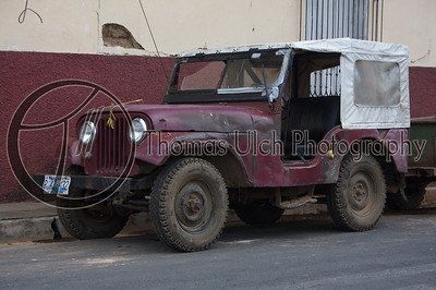 Another old jeep! Ahuachapan, EL Salvador.