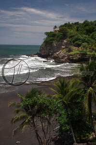 Another beautiful, black sand beach. El Salvador.