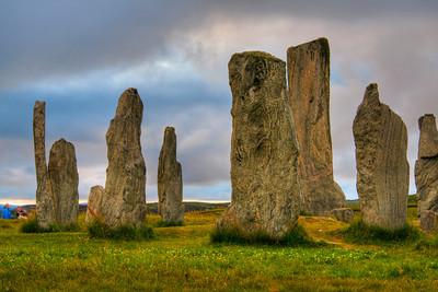 HDR Calanais stones, Lewis, Scotland