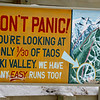 Taos is a nice mountain, but it's only big in relation to the likes of Red River - I saw most of it (skied all the Green and a couple of blues and looked at a lot of black) in less than one day. Disappointingly, they closed down two lifts due to high wind, effectively closing down 3/4 of the mountain by noon. Feb 2012
