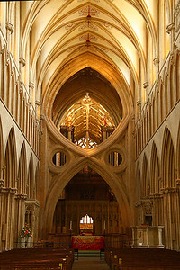 sissor arch, Wells cathedral, England