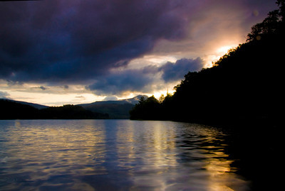 Loch in Trossachs, Scotland
