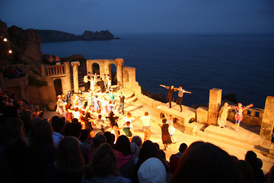 Minack seaside theatre, Lands End, England