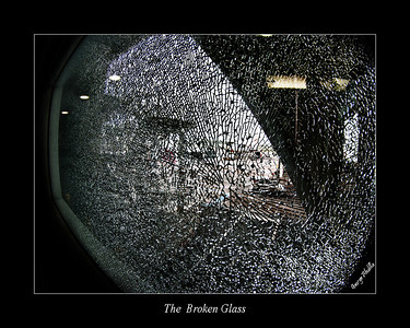 Broken Glass - Catania Airport